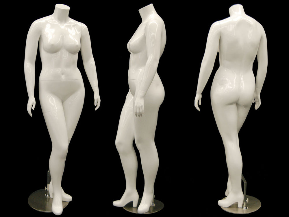 Nina 1: Plus Size Female Headless Mannequin