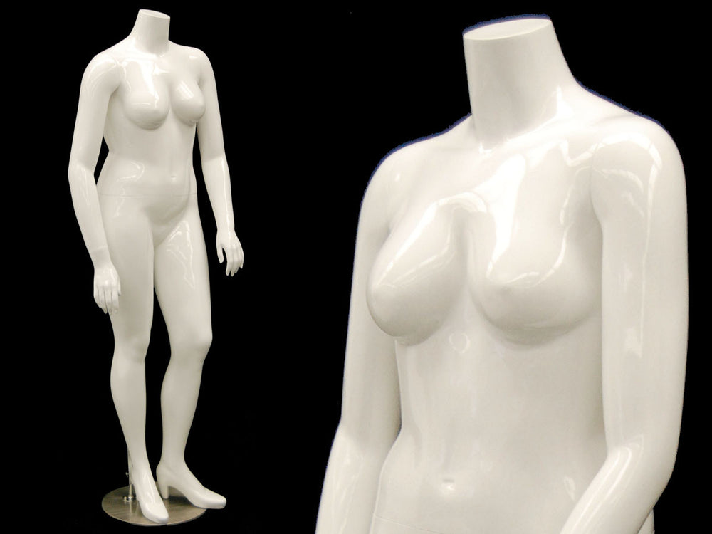 Nina 2: Plus Size Female Headless Mannequin