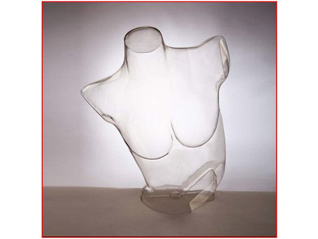 Bra Form: Clear Plastic