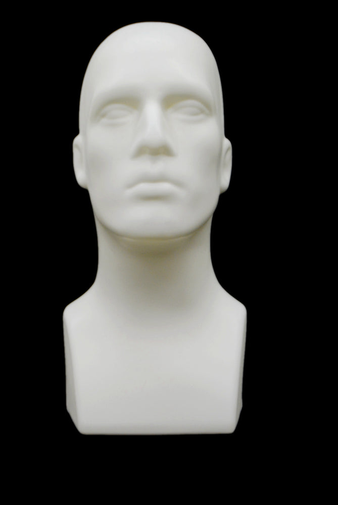 Antonio: Mannequin Head in White