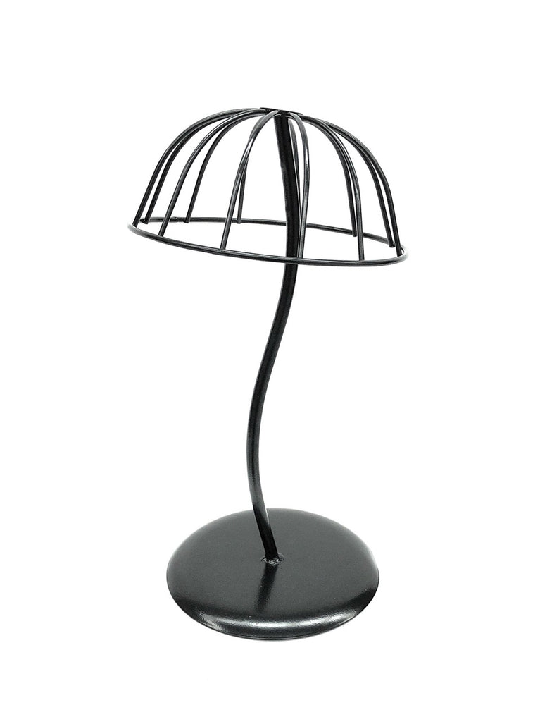 Wire Hat Display: Black