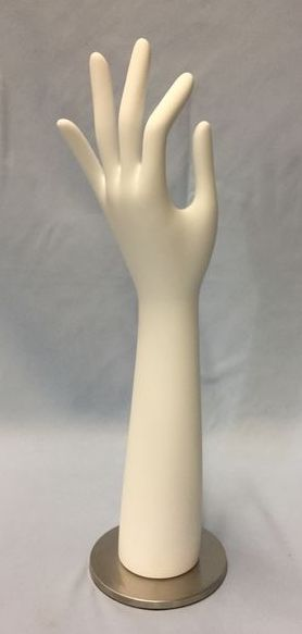 "Women's ""OK"" Hand Display: White"