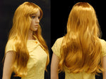 Female Wig: Long Auburn Hair