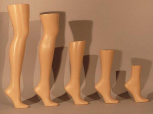 Female Hosiery Leg: Knee High