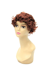 Female Wig: Short & Wispy Red