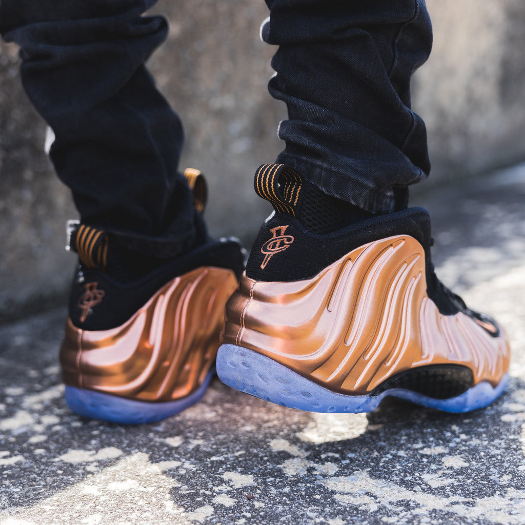 Nike Air Foamposite One Metallic Gold Shoe Review and On ...