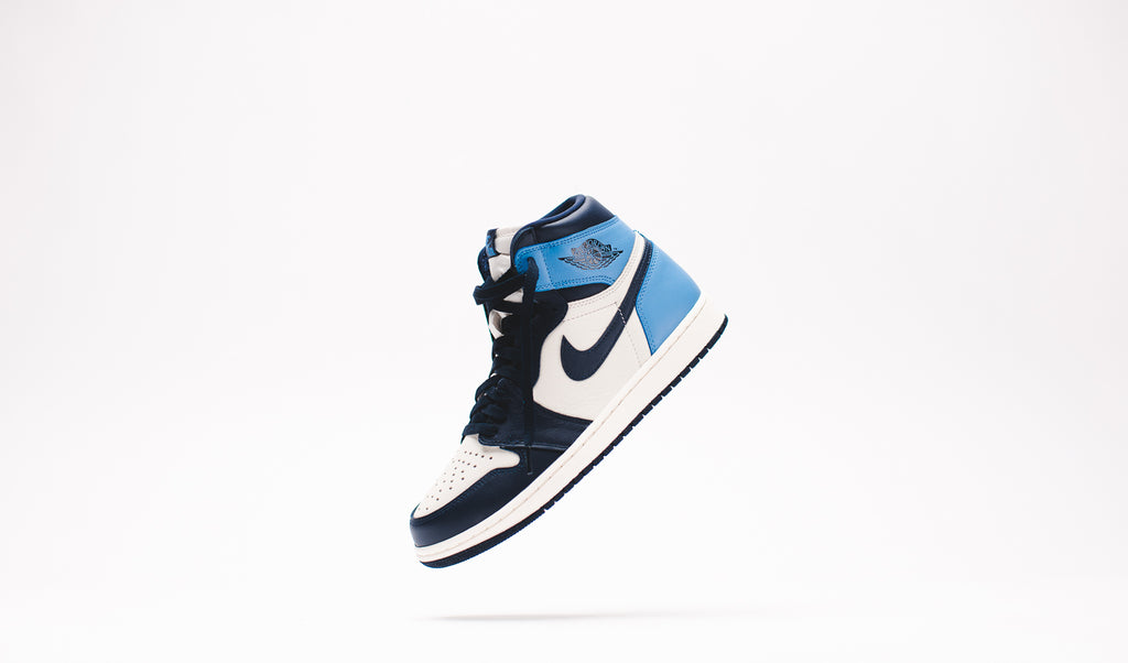 air jordan 1 retro high og obsidian raffle