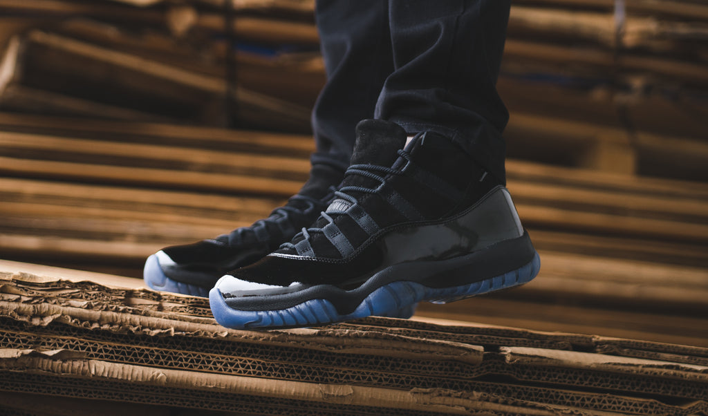 582b0dd963f A very dapper-looking unreleased Jordan sample is finally making its way to  stores, and just in time for prom! The Air Jordan 11 Retro