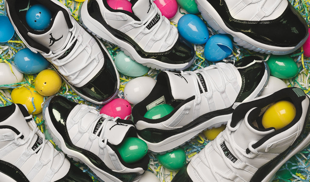f891a5500b3 Jordan Brand has got something sweeter than any jelly bean you'll find in  your Easter basket this year with the Air Jordan 11 Retro Low
