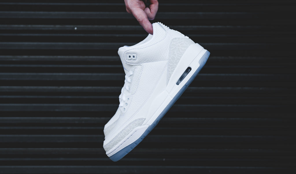 c55632d63e7 Jordan Brand is dropping the perfect pair of summer sneakers smack dab in  the center of the season with this week's release of the Air Jordan 3 Retro