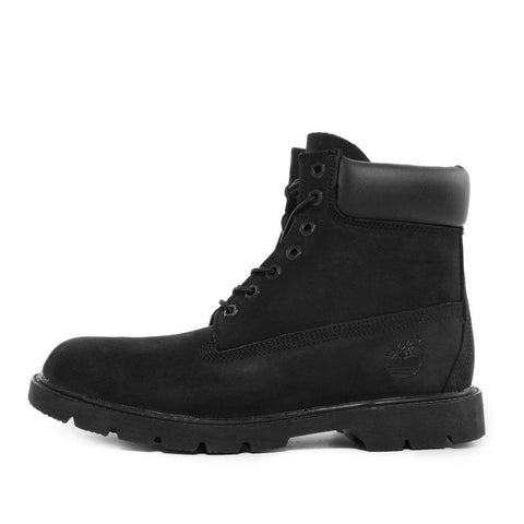 "6"" BASIC WATERPROOF BOOT - BLACK NUBUCK"