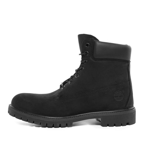 WATERPROOF 6 INCH PREMIUM BOOT - BLACK NUBUCK