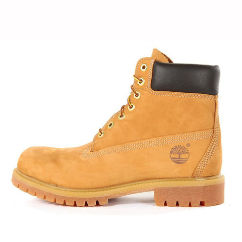WATERPROOF 6 INCH PREMIUM BOOT - WHEAT NUBUCK