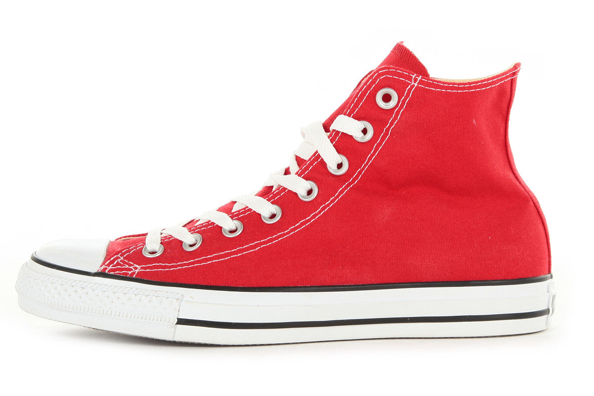 CONVERSE CHUCK TAYLOR ALL STAR HI - RED