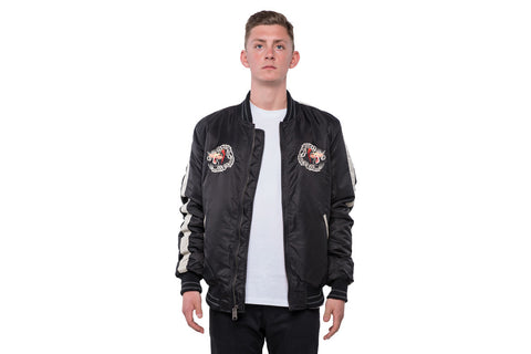 Men`s Nylon Tour Jacket - BLACK