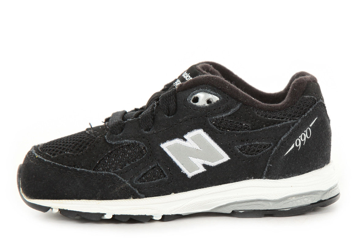 NEW BALANCE KJ990BKI TODDLER RUNNING COURSE - BLACK/GREY