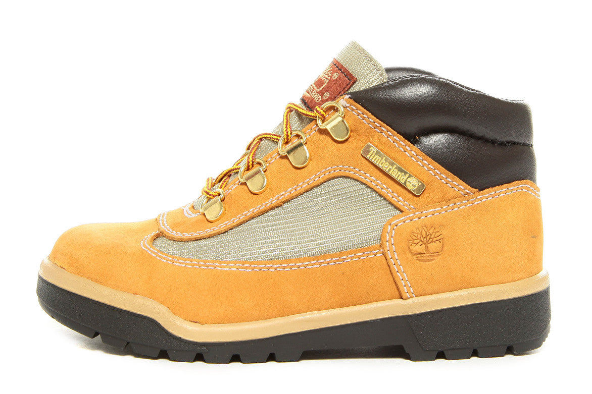 FIELD BOOTS (TODDLER) - WHEAT | City Blue