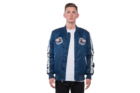 Men`s Nylon Tour Jacket - NAVY