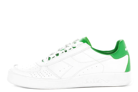 DIADORA B. ELITE L. III - WHITE/GREEN
