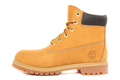 WATERPROOF 6 INCH PREMIUM BOOT (JUNIOR) - WHEAT