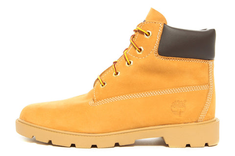 6 INCH SINGLE SOLE BOOT (JUNIOR) - WHEAT