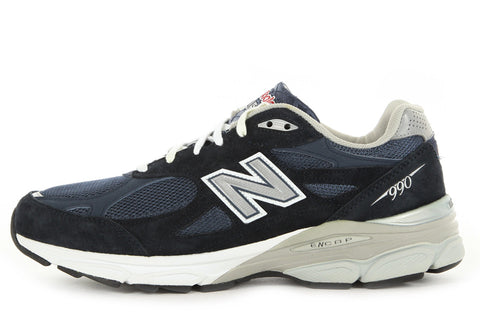 NEW BALANCE M990NV3 RUNNING COURSE - NAVY/GREY