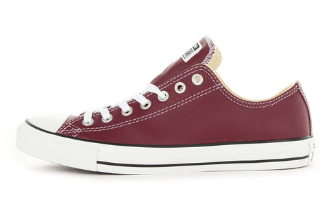 CONVERSE CHUCK TAYLOR ALL STAR OX - OXHEART RED LEATHER