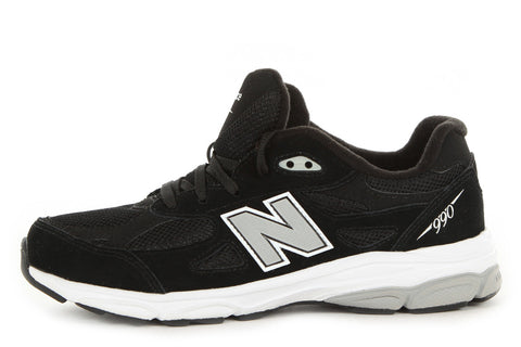 NEW BALANCE KJ990BKG YOUTH RUNNING COURSE - BLACK/GREY