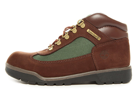 FIELD BOOT (JUNIOR) - BROWN/GREEN