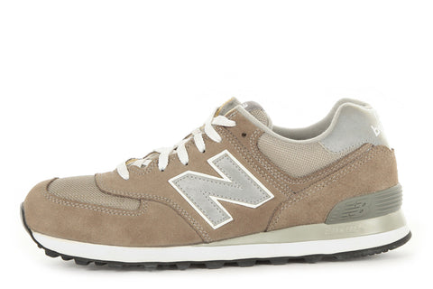 NEW BALANCE M574GS CLASSIC - GREY/SILVER