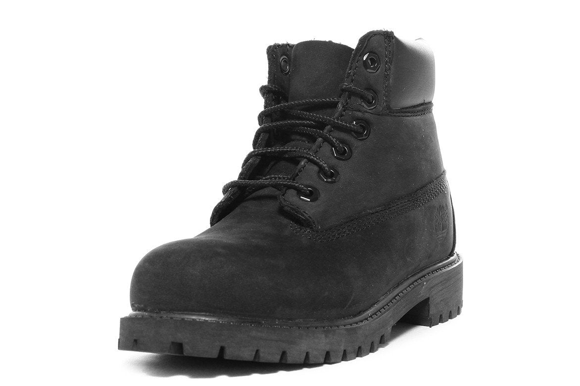 WATERPROOF 6 INCH PREMIUM BOOT (YOUTH) - BLACK
