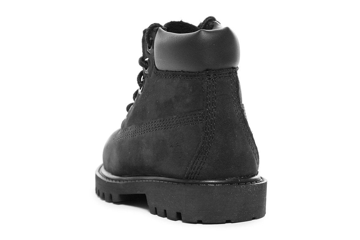 6 INCH PREMIUM BOOT (TODDLER) - BLACK