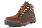 WATERPROOF FIELD BOOT - BROWN / GREEN