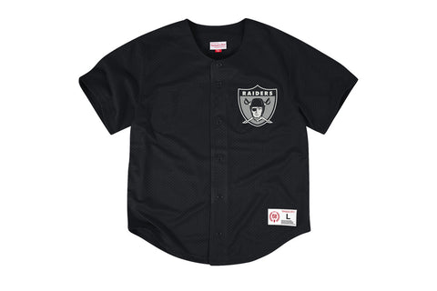 NFL MESH BUTTON FRONT JERSEY - RAIDERS