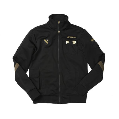 BATTLEFIELD TRACK JACKET - BLACK