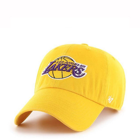 LAKERS DAD HAT - YELLOW