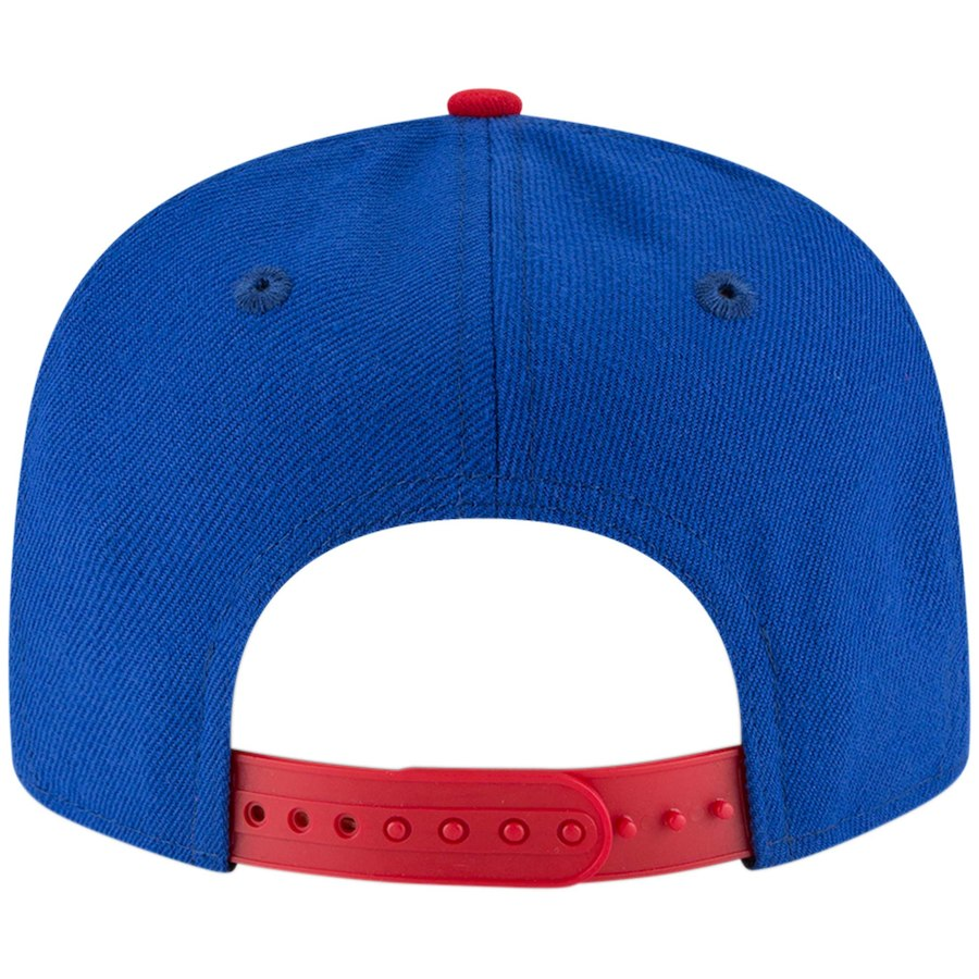 9FIFTY 76ERS SNAPBACK - ROYAL/RED