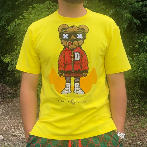 D BEAR TEE - YELLOW