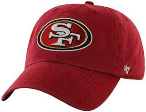 "SAN FRANCISCO 49ERS ""DAD HAT"" - RED"