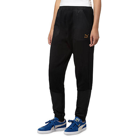 EVO EMBOSSED UTLITY PANTS - BLACK