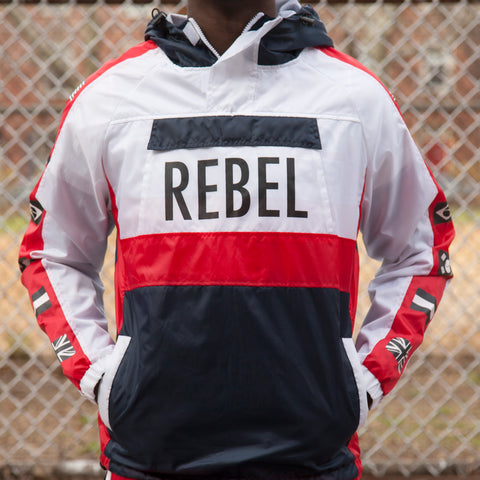 REBEL ANORAK - WHITE