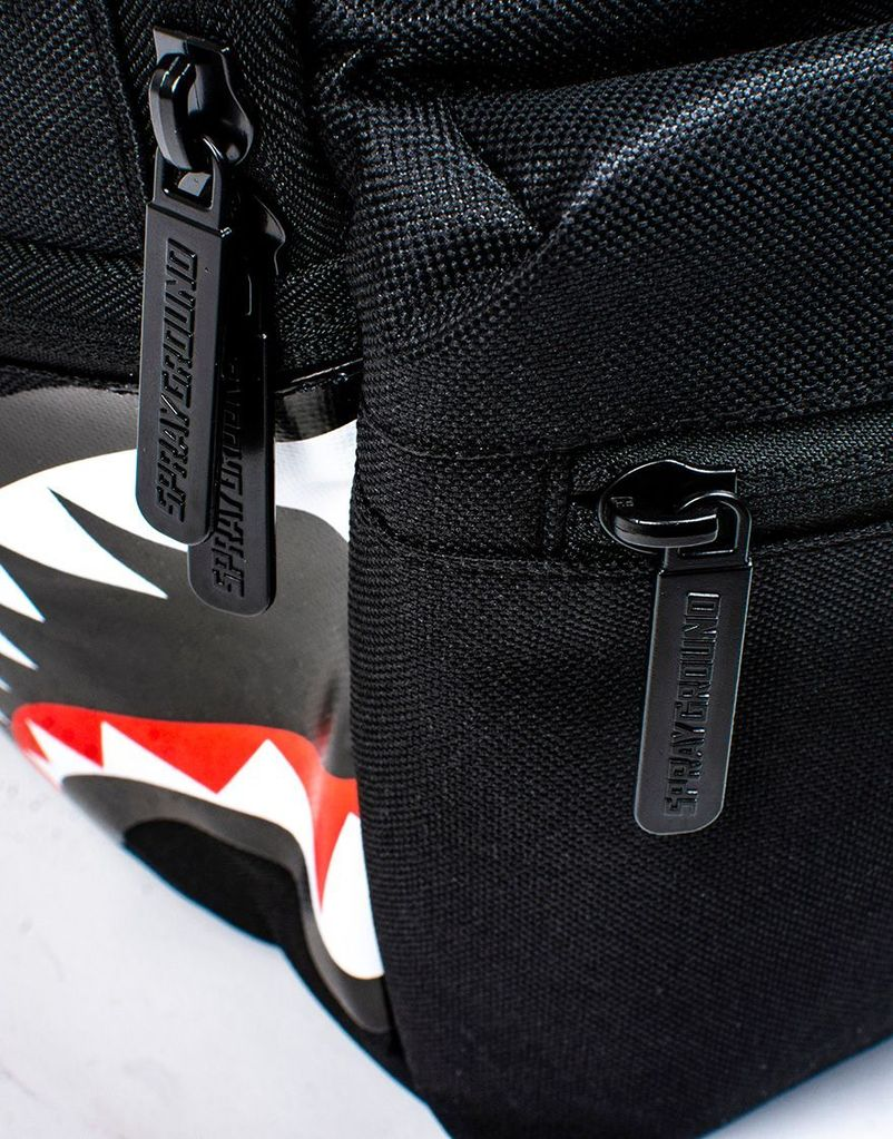 DOUBLE CARGO SIDE  BACKPACK - BLACK