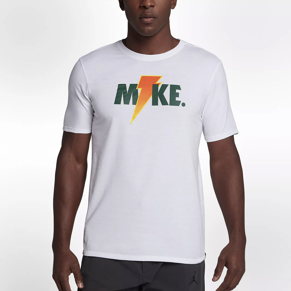 JORDAN LIKE MIKE LIGHTNING TEE - WHITE