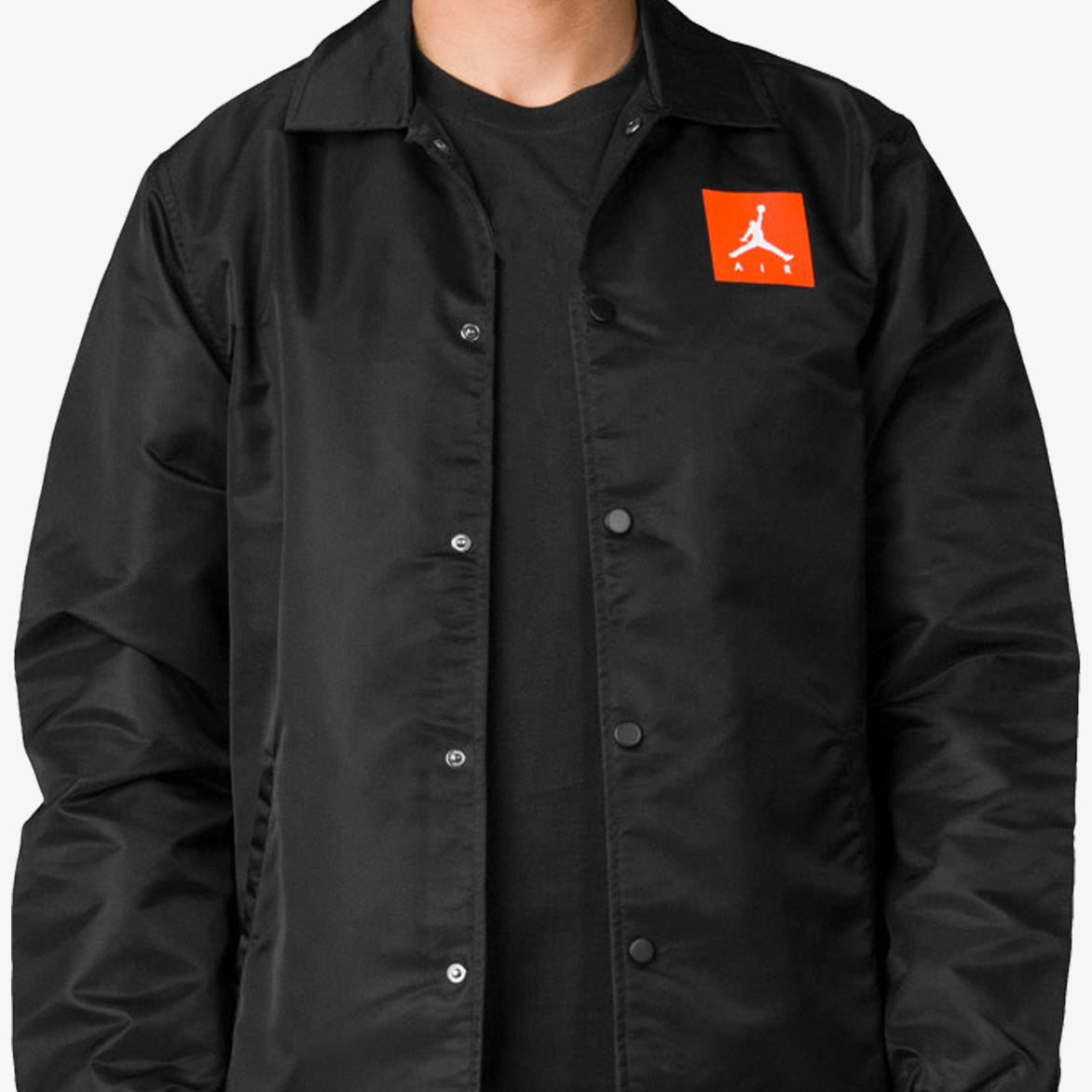 JORDAN LIKE MIKE COACHES JACKET - BLACK