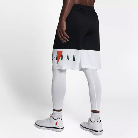 BREATHE LIKE MIKE BASKETBALL SHORTS - BLACK