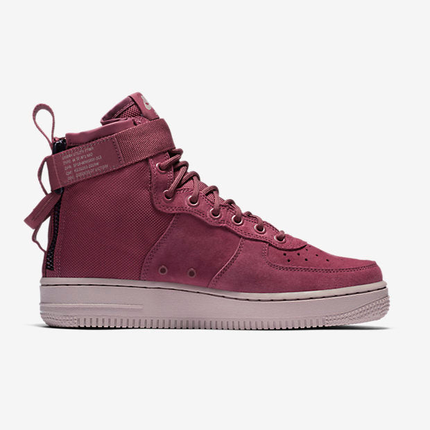 "WMNS SF AF1 MID ""FORCE IS FEMALE"" - VINTAGE WINE"