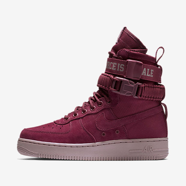 "WMNS SF AF1 ""FORCE IS FEMALE"" - VINTAGE WINE"
