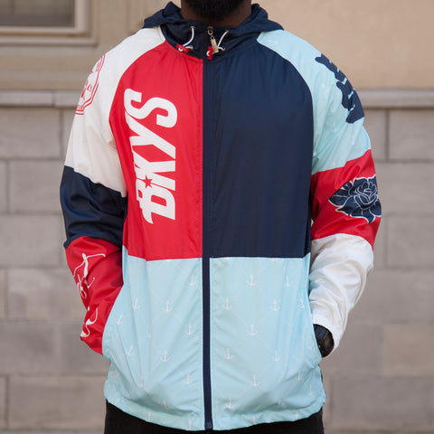 INTERNATIONAL WINDBREAKER - NAVY