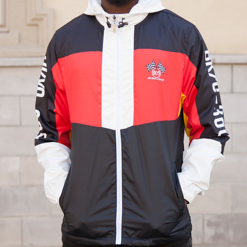 RACING WINDBREAKER - BLACK