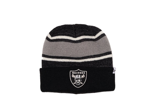 FAIRFAX CUFF KNIT HAT - RAIDERS